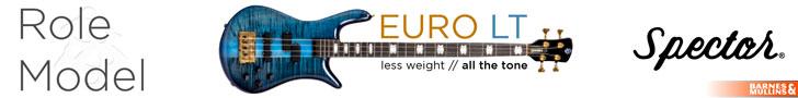 Spector Euro LT Blue